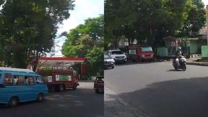Stok Solar Menipis, Antrean Kendaraan Terjadi Disejumlah SPBU di Manado