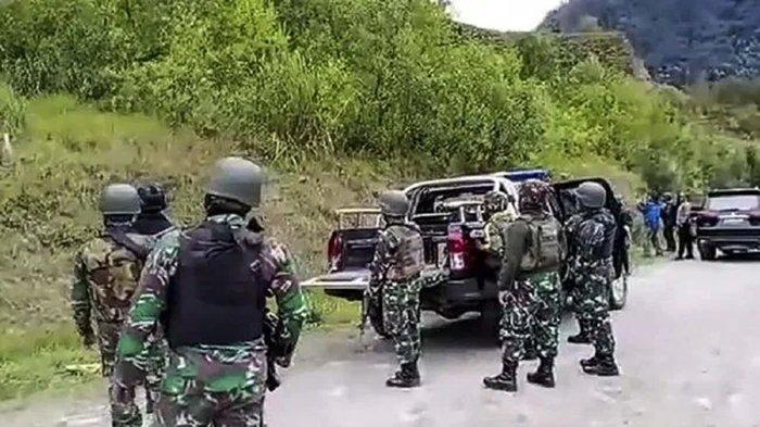Baku Tembak dengan KKB Papua Egianus Kogoya, Anak Buah Jenderal Andika Perkasa Banyak yang Terluka