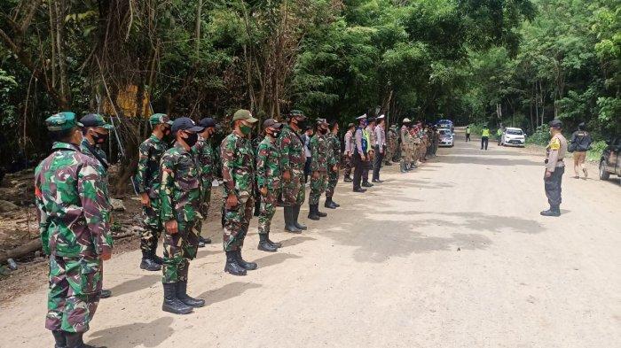Cegah Menyusulnya Korban Baru, Aparat TNI-Polri dan Satpol-PP Tertibkan Tambang Ilegal Ratatotok