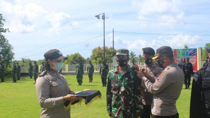 Polres Kepulauan Talaud Apel Gelar Pasukan Operasi Keselamatan Samrat Tahun 2021 di Talaud