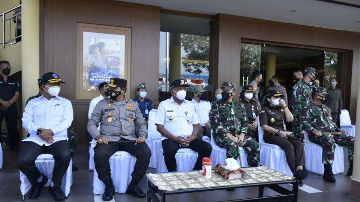 Gubernur Olly Minta Aparat TNI Polri Jaga Kamtibmas, Ingatkan Pengendalian Covid Menjelang Lebaran