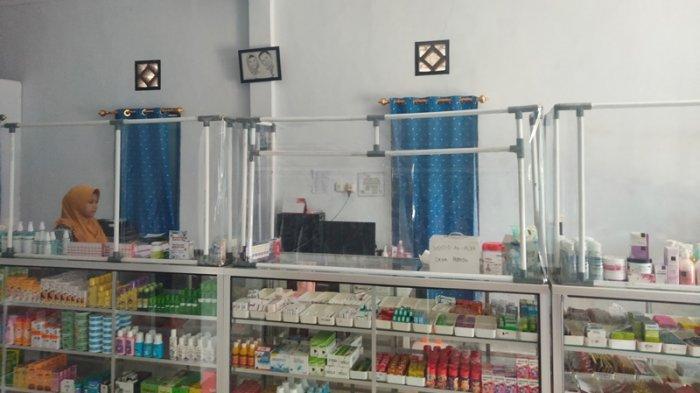 Apotek di ibu kota Bolaang Mongondow Selatan.