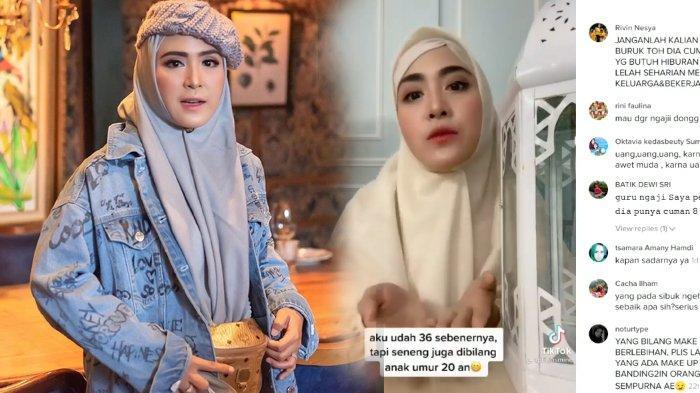 Tak Kapok Joget TikTok, Video April Jasmien Kali ini Tuai Pujian Warganet, Emang Cantik Kok!