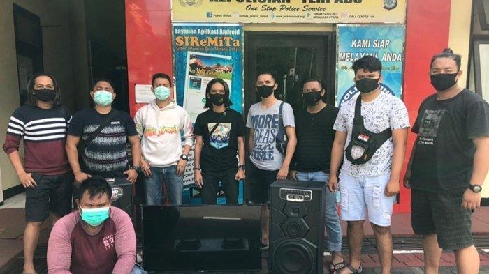 Timsus Waruga Ciduk Risidivis Pelaku Curanik, Sering Beraksi Mobile di Manado dan Minut