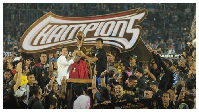 Daftarkan 30 Pemain untuk Liga 1 2019, Arema FC Bertekad Teruskan Trend Positif Piala Presiden 2019