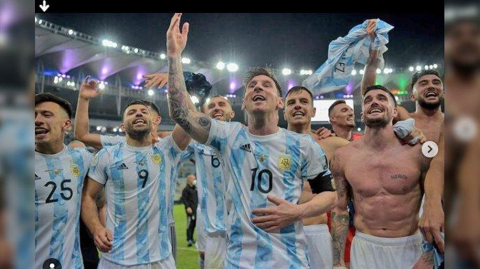 Hasil Akhir Argentina VS Brasil, Final Copa Amerika 2021, Angel Di Maria Satu-satunya Pencetak Gol