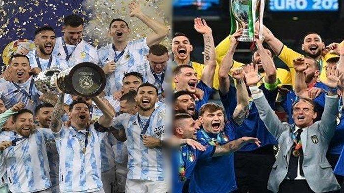 Argentina vs Italia, Duel Para Juara Siap Digelar untuk Mengenang Legenda Diego Maradona