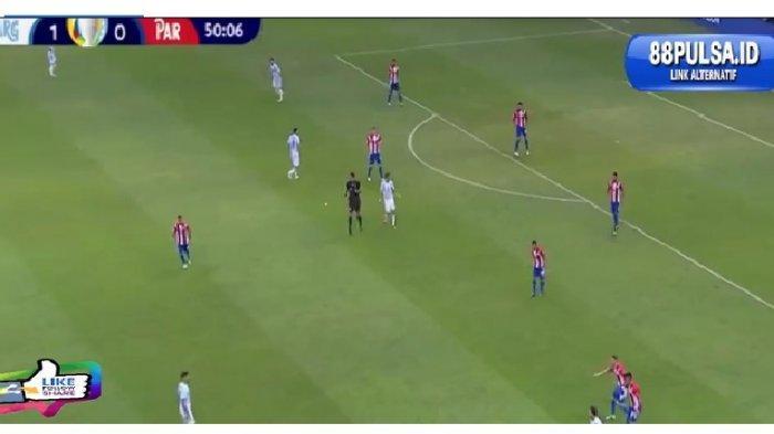 MASIH BERLANGSUNG Babak Kedua Argentina vs Paraguay di Copa America 2021, Messi CS Masih Unggul