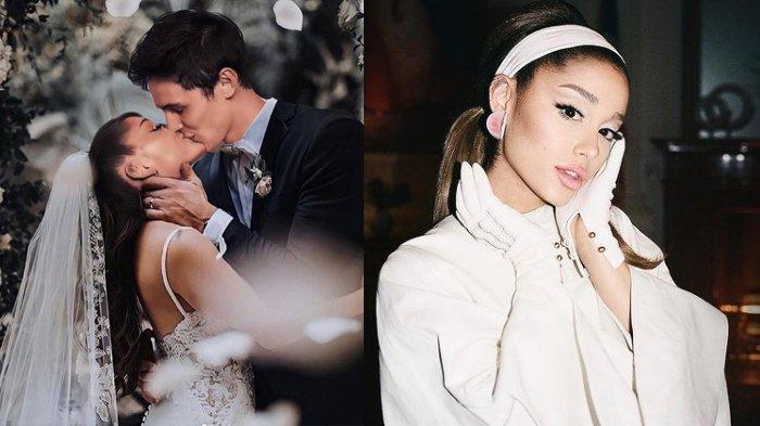 Ariana Grande dan Dalton Gomez Resmi Menikah
