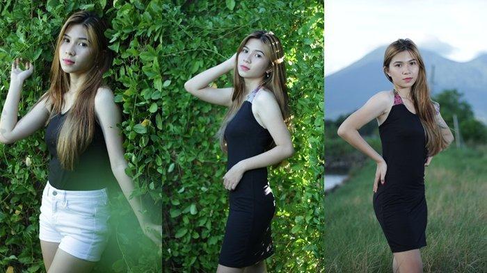 Mahasiswi Cantik Arlita Egi Cortentie Sompotan Suka Spot Foto di Pantai Paal