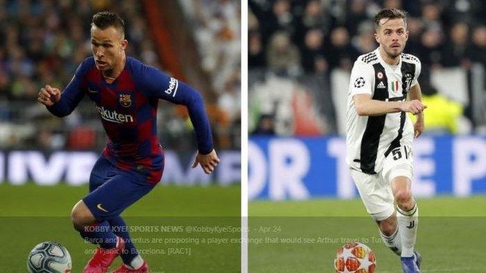 Pjanic Resmi Berseragam Barcelona Musim Depan, Juventus Tukar Sang Gelandang dengan Arthur Melo