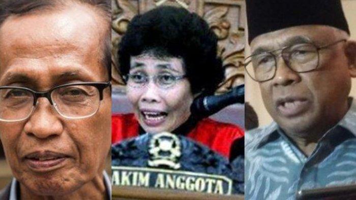 Calon Dewan Pengawas KPK, Ini ProfilArtidjo Alkostar, Taufiequrachman dan Albertina Ho