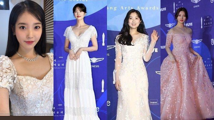 Penampilan 5 Artis Korea di Baeksang Awards 2019 Ini Bak Tuan Putri, Suzy dan IU Jadi Sorotan