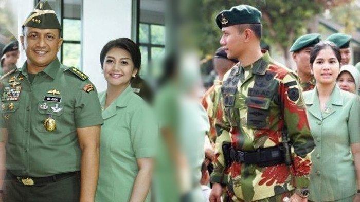 5 Artis Cantik Mantap Nikahi Anggota TNI, Ada yang Dinikahi Perwira di Usia 22 Tahun