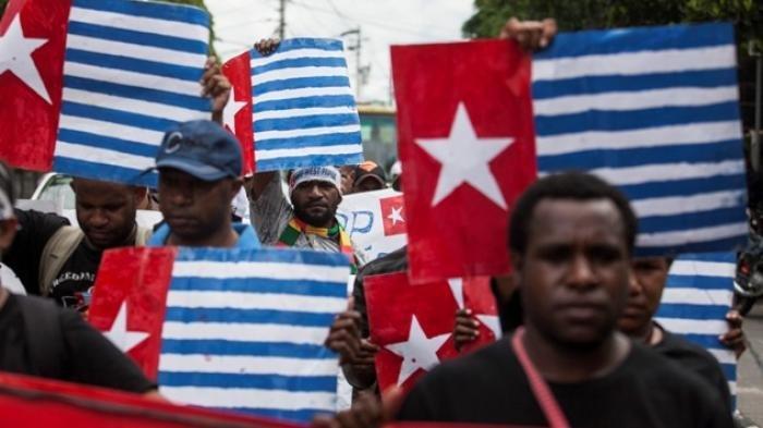 Demo Protes KKB Dicap Teroris di Papua Pecah, Polisi Tindak Tegas Para Pengunjuk Rasa Anarkis