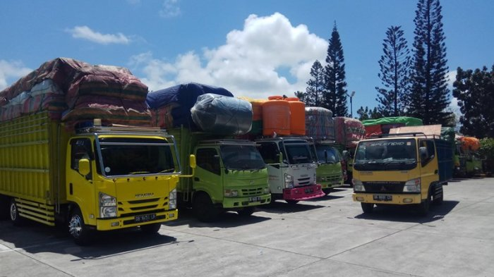 Sekitar 200 Kendaraan Tujuan Nusa Utara dan Ternate Tertahan di Pelabuhan ASDP, Ini Penyebabnya