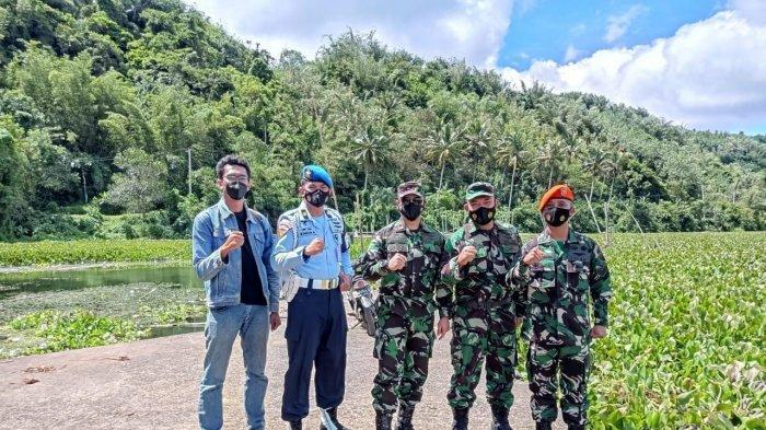 Danlanudsri Manado Tinjau Aset TNIAU, Eks Lapangan TerbangKalawiran Sudah Ada Sejak Zaman Belanda