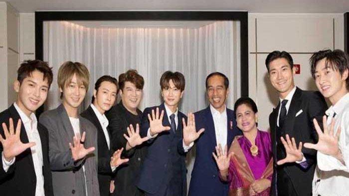 Sebut Super Junior saat Wawancara, Presiden Jokowi Adakan Kunjungan ke Korea Selatan