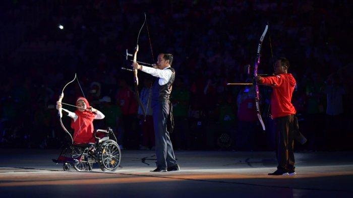 Presiden Jokowi Mendapat Pesan Menyentuh dari Penyandang Disabilitas Cilik, Bulan Karunia