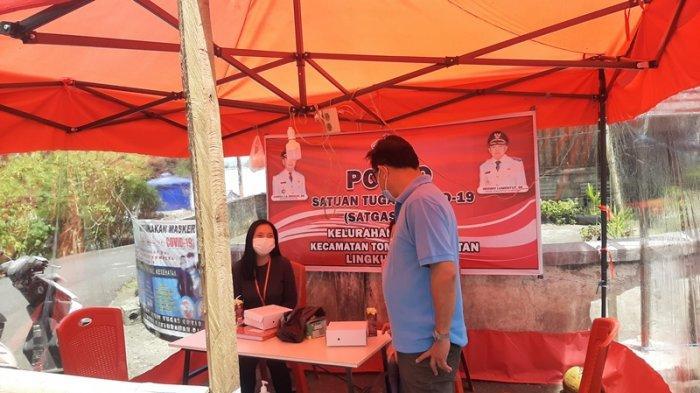 Pandeirot Turun Langsung Cek Keaktifan Posko Satgas Penanganan Covid-19 di Sejumlah Kelurahan