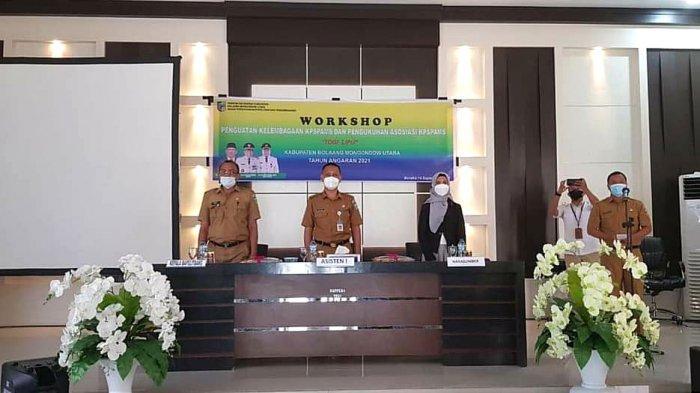 Buka Workshop KPSPAMS di Bolmut, Rachmat Pontoh: Ketersediaan Air Minum dan Sanitasi Perlu Diseriusi