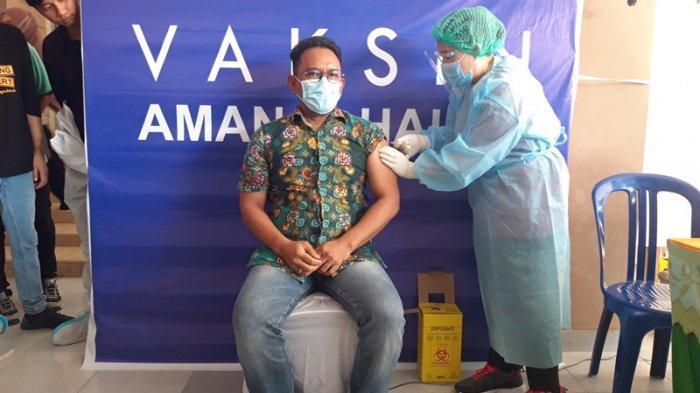 Pemkab Boltim Canangkan Vaksinasi Covid-19 Perdana, Mulai Penyuntikan di Masing-Masing Puskesmas