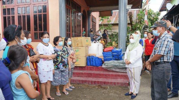 Pemkot Kotamobagu Salurkan Bantuan dan Gelar Trauma Healing ke Korban Kebakaran