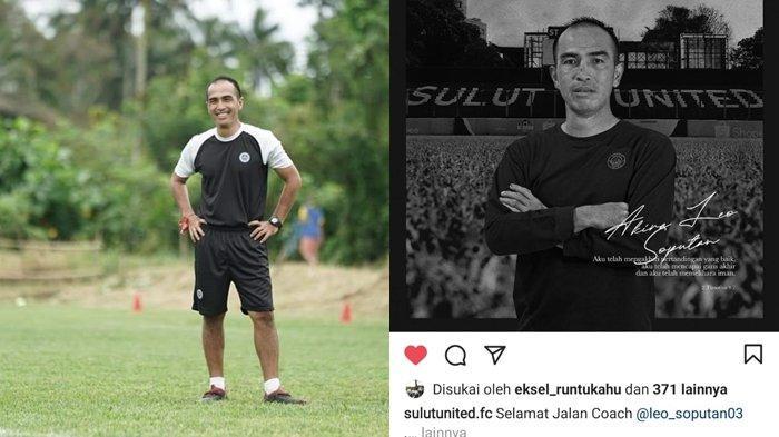 BREAKING NEWS, Asisten Pelatih Sulut United Leo Soputan Berpulang Sehari Setelah HUT ke-45