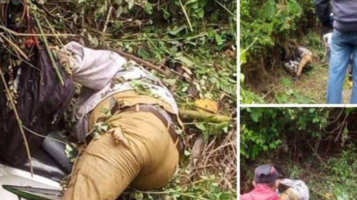 Hilang 2 Hari PNS di Bolsel Ditemukan Tewas di Jurang, Kapolsek Pinolosian:Diduga Lakalantas Tunggal