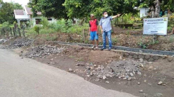Aspirasi Drainase & Jalan Rabat Beton Masyarakat Pakuweru Direalisasi, Jaclyn Koloay Banjir Pujian