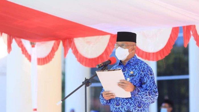Sekda Bolmut Pimpin Upacara Peringatan HUT Ke-56 Sulut