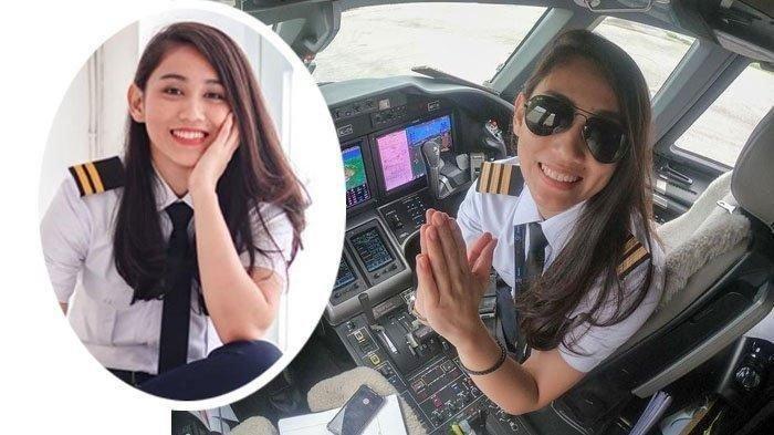 PROFIL Pilot Cantik Athira Farina, Dijodohkan dengan El Rumi, Pernah Jadi Drummer Vicky Shu