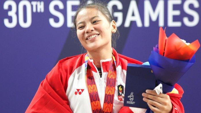 Profil Windy Cantika Aisah, Atlet Angkat Besi Berusia 19 Tahun, Sumbang Medali Pertama Indonesia