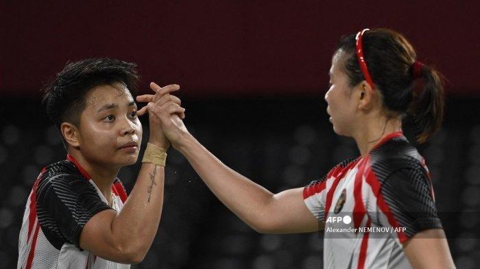 Ini Kata-kata Greysia Polii ke Apriyani Rahayu Jelang Kelolosan Bersejarah ke Final Olimpiade Tokyo