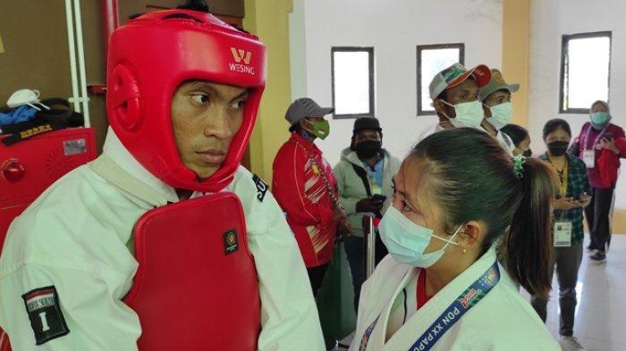 Atlet Kempo Sulut Mulai Berlaga di PON Papua, Anjas Gagal di Laga Pertama Kelas 65 Kg