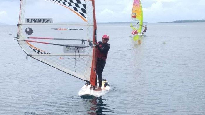 Alifah, Atlet Layar Sulut Optimistis Hadapi Race Kelas Techno PON XX Papua 2021