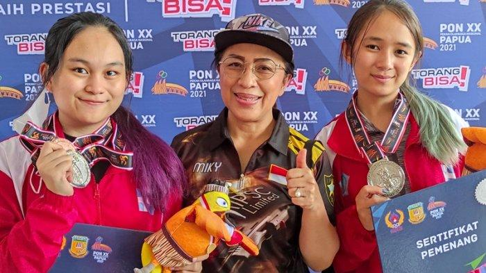 Harapan Gisella dan Icha, Duo Atlet Menembak Sulut setelah Sumbang Medali PON XX Papua