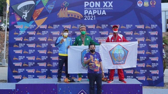 Paralayang Sulut Dedikasikan Medali Perunggu PON XX Papua bagi 3 Atlet Korban Gempa Palu