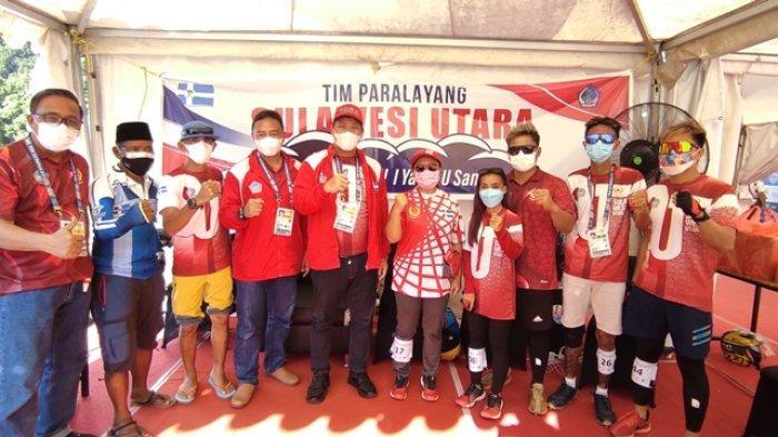 Atlet Paralayang Sulut, Reza Tampenawas Raih Perunggu Ketepatan Mendarat PON XX Papua