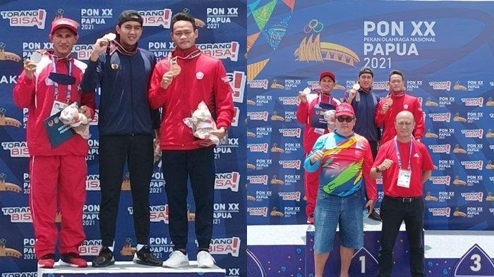 Atlet Selam Sulut Miki Wowor Sumbang Perak untuk Sulut di PON XX Papua