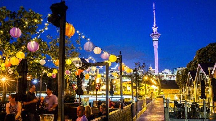 Auckland, Selandia Baru.