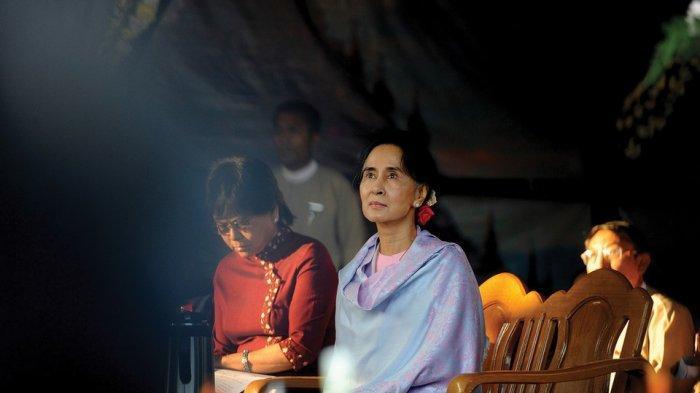 Aung San Suu Kyi, tokoh dan pejuang demokrasi di Myanmar.