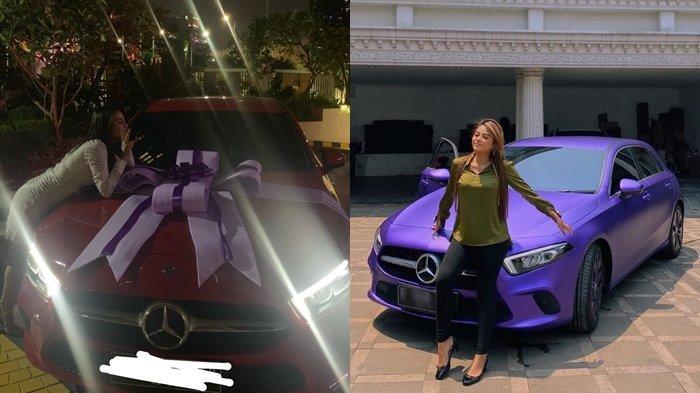 Dapat Kado Mobil Mewah Tampilan Aurel Hermansyah Saat Foto Di Depan Mobil Jadi Sorotan Tribun Manado