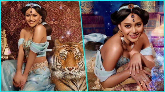 Pesona 13 Seleb Indonesia Menjelma Menjadi Putri Disney