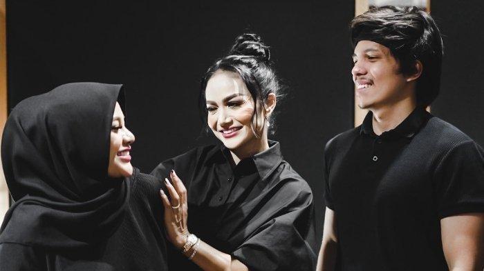Atta Halilintar menyatukan Aurel Hermansyah dan Krisdayanti lewat sebuah lagu