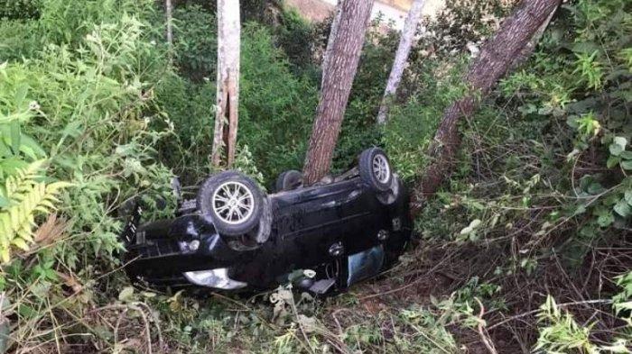 Kecelakaan Pukul 16.30 WIB, Wanita Pegawai Puskesmas Kendarai Avanza Masuk Jurang, Ini Kronologinya