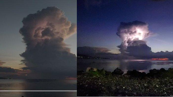 Apa Itu Awan Cumulonimbus? Disebut Sebagai Penyebab Berbagai Bencana, Dilaporkan Terlihat di Manado