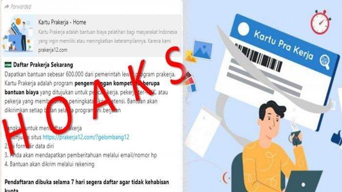 AWAS! Link Palsu Pendaftaran Kartu Prakerja Gelombang 12, Ini Cara Daftar via URL yang Asli