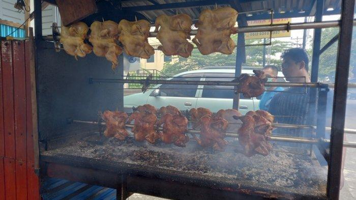 Ayam Bakar Guling Menjadi Populer,Zubair: Terima Kasih Tribun Manado