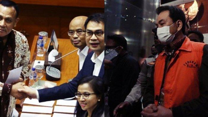 Dulu Aziz Syamsuddin Beri Suara Firli Bahuri jadi Ketua KPK, Kini Ditangkap & Pakai Rompi Oranye